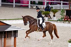 Werth Isabell, GER, Bella Rose 2, 140<br /> Olympic Games Tokyo 2021<br /> © Hippo Foto - Stefan Lafrentz<br /> 25/07/2021