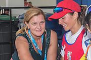 Sarasota. Florida USA.  Elisabeta LIPA-OLENIUC. 6 Times Olympic Medalist2017 World Rowing Championships, Nathan Benderson Park<br /> <br /> Saturday  30.09.17   <br /> <br /> [Mandatory Credit. Peter SPURRIER/Intersport Images].<br /> <br /> <br /> NIKON CORPORATION -  NIKON D500  lens  AF Zoom 24-70mm f/2.8G mm. 320 ISO 1/125/sec. f 13