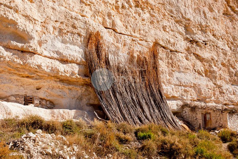Casas-Cueva. Ribera de Cubas. La Manchuela. Albacete ©Antonio Real Hurtado / PILAR REVILLA