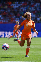 June 30, 2019 - Valenciennes, France - Lieke Martens (NED) during the quarter-final between in ITALY and NETHERLANDS the 2019 women's football World cup at Stade du Hainaut, on the 29 June 2019. (Credit Image: © Julien Mattia/NurPhoto via ZUMA Press)