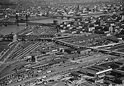Ackroyd 02104-15. March 29, 1950. NW Portland UP rail yards north of Broadway Bridge.