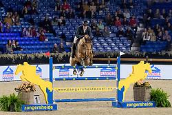 Williams Guy, GBR, Cicero II<br /> Jumping Mechelen 2018<br /> © Hippo Foto - Sharon Vandeput<br /> 30/12/18