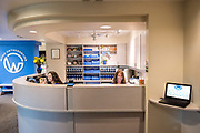 Photograph of an Orthodontist  office.
