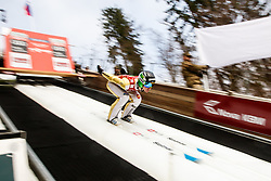 Domen Prevc of Slovenia during the Ski Flying Hill Men's Team Competition at Day 3 of FIS Ski Jumping World Cup Final 2017, on March 25, 2017 in Planica, Slovenia. Photo by Grega Valancic / Sportida