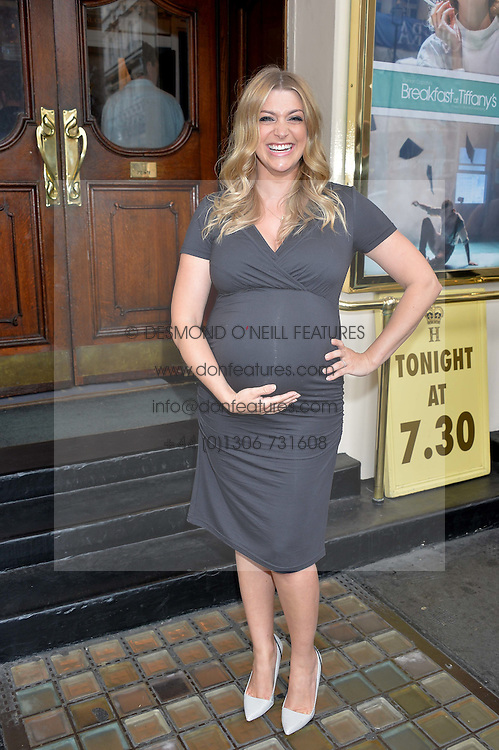 ANNA WILLIAMSON at the opening night of Breakfast at Tiffany's at The Theatre Royal, Haymarket, London on 26th July 2016.