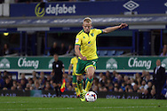 Steven Naismith of Norwich City looks to shoot for goal.EFL Cup, 3rd round match, Everton v Norwich city at Goodison Park in Liverpool, Merseyside on Tuesday 20th September 2016.<br /> pic by Chris Stading, Andrew Orchard sports photography.
