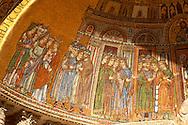 Translation Of The Body Of St Mark Mosaic - Basilica - Venice