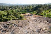 Landscape overview Hurulu Eco Park biosphere reserve, Habarana, Anuradhapura District, Sri Lanka, Asia