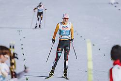 28.02.2021, Oberstdorf, GER, FIS Weltmeisterschaften Ski Nordisch, Oberstdorf 2021, Herren, Nordische Kombination, Teambewerb, Langlauf, im Bild Vinzenz Geiger (GER) // Vinzenz Geiger of Germany during Cross Country Competition of men Nordic combined Teamevent of FIS Nordic Ski World Championships 2021 in Oberstdorf, Germany on 2021/02/28. EXPA Pictures © 2021, PhotoCredit: EXPA/ Dominik Angerer