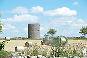 17/06/2014 Make hay while the sun is shining  Kinvara Galway.<br />   Photo:Andrew Downes