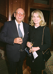 MR CHRISTOPHER & LADY MARY-GAYE SHAW at a fashion show in London on April 30th 1997.LYA 3