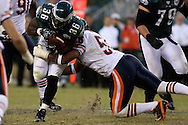 PHILADELPHIA - OCTOBER 21: Philadelphia Eagle's Brian Westbrook #36 runs with the ball during the game against the Chicago Bears on October 21, 2007 at Lincoln Financial Field in Philadelphia, Pennsylvania. The Bears won 19-16.