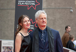 The Edinburgh International Film Festival Opening Night Premiere features the film Puzzle. Directed by Mark Turtletaub it stars Kelly Macdonald and Irrfan Khan. <br /> <br /> Pictured: Mark Turtletaub & Kelly Macdonald