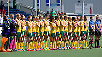 THE HAGUE - South Africa (RSA) vs England. Team of South Africa. COPYRIGHT KOEN SUYK