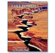 Publication photo: An aerial view of Lake Powell in Southern Utah