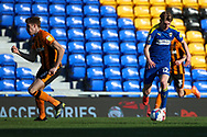 AFC Wimbledon midfielder Jack Rudoni (12) dribbling during the EFL Sky Bet League 1 match between AFC Wimbledon and Hull City at Plough Lane, London, United Kingdom on 27 February 2021.