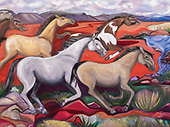 Fenley Painting (Horse) choices