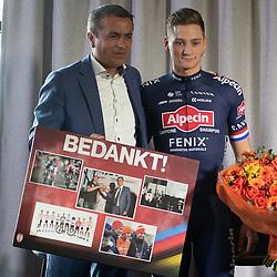 03-01-2020: Wielrennen: Teampresentatie Corendon: Amsterdam<br />Atilay Uslu CO Corendon, Mathieu van der Poel