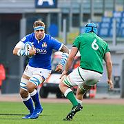 Roma 27/02/2021, Stadio Olimpico<br /> Guinness Six Nations 2021<br /> Italia vs Irlanda <br /> <br /> Niccolo Cannone
