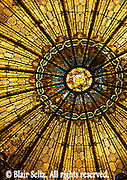 Irem Temple, Irem Shrine, stained glass ceiling, Wilkes-Barre, NE PA
