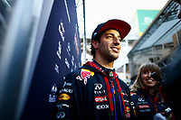 RICCIARDO daniel (aus) red bull renault rb11 ambiance portrait during Formula 1 winter tests 2015 at Barcelona, Spain from February 19th to 22nd. Photo DPPI / Florent Gooden.
