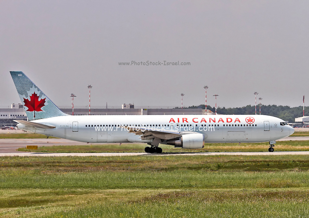 C-FCAE Air Canada Boeing 767 Photographed at Malpensa airport, Milan, Italy