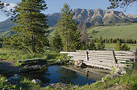 Russian John Warm Spring Boulder Mountains Idaho