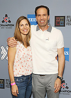 """Michael A. Pierce and wife at DTLA Film Festival """"INSIDE GAME"""" Los Angeles Premiere held at Regal LA Live on October 24, 2019 in Los Angeles, California, United States (Photo by © Michael Tran/VipEventPhotography.com"""
