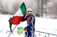OL 2006 Langrenn menn stafett,<br />Pragelato Plan<br />19..02.06 <br />Foto: Sigbjørn Hofsmo, Digitalsport <br /><br />Christian Zorzi ITA Italia