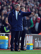 Manchester City manager Manuel Pellegrini issues instructions<br /> - Barclays Premier League - Southampton vs Manchester City - St Mary's Stadium - Southampton - England - 30th November 2014 - Pic Robin Parker/Sportimage