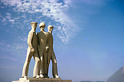 Monument to the Soldiers of the Three Armed Forces, in Parque do Flamengo, Rio de Janeiro, Brazil, South America 1962