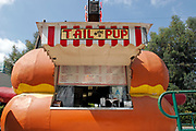 Tail o' the Pup (no Longer there), San Vicente Blvd., Los Angeles, California (LA)