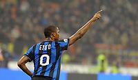 Samuel Eto'o<br /> Inter-Palermo 5-3 <br /> Campionato di calcio serie A 2009/2010<br /> Milano, 29 Ottobre 2009<br /> Inter Palermo 5-3<br /> Foto Paolo Bona Insidefoto