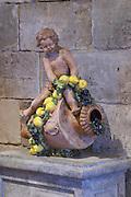 cornucopia sculpture chateau haut brion pessac leognan graves bordeaux france