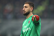 Gianluigi Donnarumma of AC Milan during the Serie A match at Giuseppe Meazza, Milan. Picture date: 9th February 2020. Picture credit should read: Jonathan Moscrop/Sportimage