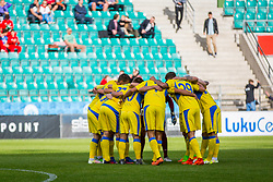 Players during 2nd leg match of 1st Round Qualifications for European League between FC Flora and NK Domzale, on July 7, 2017 on Le Coq Arena, Tallinn, Estonia. Photo by Ziga Zupan / Sportida