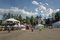 Laconia Fest attendance did not reach expectations as seen on Wednesday.  (Karen Bobotas/for the Laconia Daily Sun)