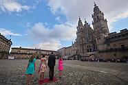 072521 Spanish Royals visit Santiago de Compostela
