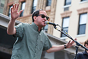 The Baseball Project at the 2011 Hoboken Music & Arts Festival with guest Craig Finn of The Hold Steady.