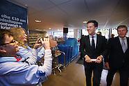 Mark Rutte bij Albert Heijn