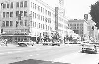 1971 NE corner of Hollywood Blvd. & Wilcox Ave.