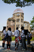 Hiroshima Peace Park is a large park in the center of Hiroshima dedicated to the legacy of Hiroshima as the first city in the world to suffer a nuclear attack on August 6, 1945, which led to the death of 140,000 people. <br /> The location of  Peace Park was once the city's busiest downtown commercial district. The park was built on open field that was created by the explosion.  The purpose of the Peace Memorial Park is to not only memorialize the victims, but also to establish the memory of nuclear horrors and advocate world peace.