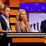 NLD/Hilversum/20100819 - RTL perspresentatie 2010, Linda de Mol, Winston Gerstanowitz, Wendy van Dijk, Robert ten Brink