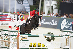 Mandli Beat (SUI) - Croesus<br /> Team consolation competition<br /> Furusiyya FEI Nations Cup Jumping Final<br /> CSIO Barcelona 2013<br /> © Dirk Caremans