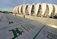 "Football Fifa World Cup Brazil 2014 / <br /> Porto Alegre - Rio Grande do Sul - Brazil - <br /> Opening Cerimony of New "" BEIRA RIO STADIUM "" on Porto Alegre - Rio Grande Do Sul / Brazil , <br /> Ready for the next FIFA World Cup Brazil 2014  , and able to accommodate a capacity of 48.849 Spectators"