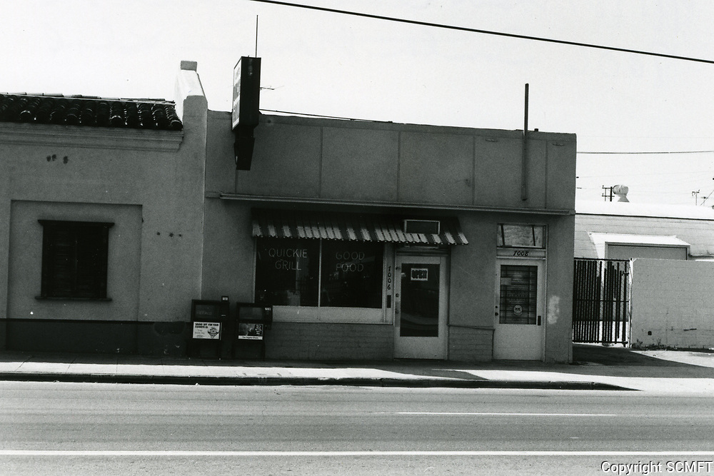 1987 Lou's Quickie Grill at 7007 Santa Monica Blvd.