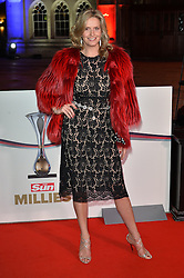 © Licensed to London News Pictures. 14/12/2016. PENNY LANCASTER attends The Sun newspaper Millies Military Awards 2016 at Guildhall <br /> London, UK. Photo credit: Ray Tang/LNP