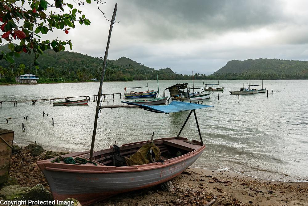 Harbor Baracoa, Cuba 2020 from Santiago to Havana, and in between.  Santiago, Baracoa, Guantanamo, Holguin, Las Tunas, Camaguey, Santi Spiritus, Trinidad, Santa Clara, Cienfuegos, Matanzas, Havana