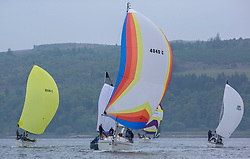Day 2 Scottish Series, SAILING, Scotland.<br /> <br /> Class 6, Lemerac, Moody 38, 4040C<br /> <br /> The Scottish Series, hosted by the Clyde Cruising Club is an annual series of races for sailing yachts held each spring. Normally held in Loch Fyne the event moved to three Clyde locations due to current restrictions. <br /> <br /> Light winds did not deter the racing taking place at East Patch, Inverkip and off Largs over the bank holiday weekend 28-30 May. <br /> <br /> Image Credit : Marc Turner / CCC