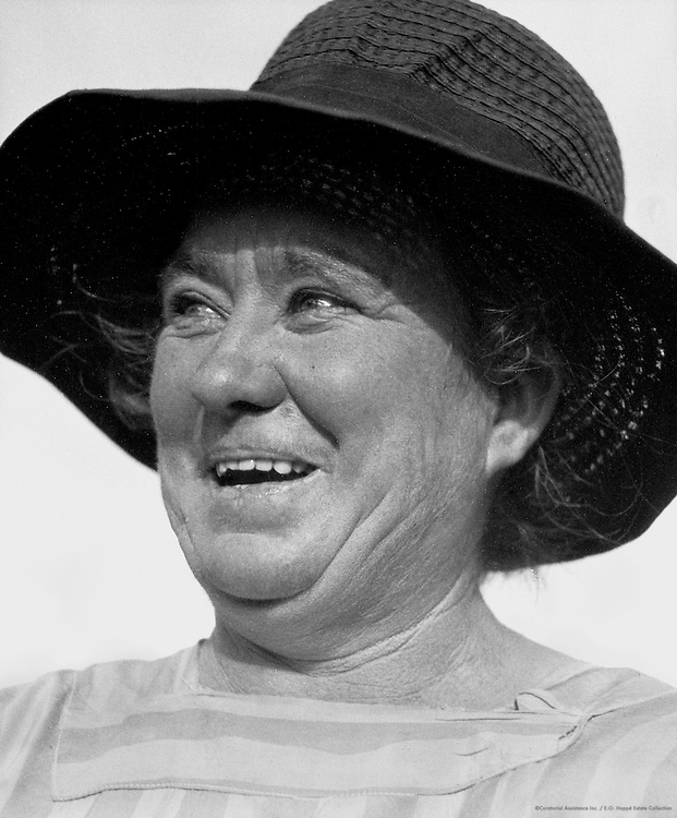 Mrs. Annie Brown, Sheep Farmer, Tasmania, Australia, 1930